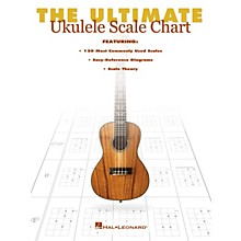 Hal Leonard The Ultimate Ukulele Scale Chart Ukulele Series Softcover Written by Various