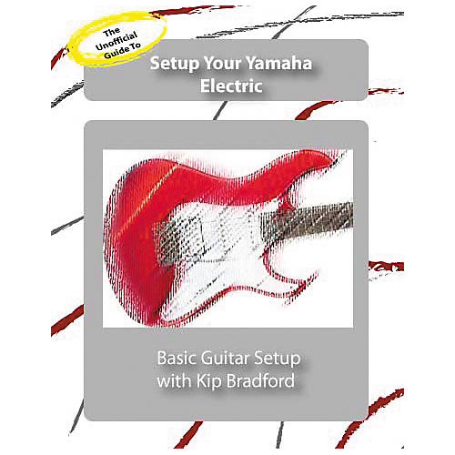 Great Nutshell Productions The Unauthorized Guide to Setup Your Yamaha Electric Guitar (DVD)