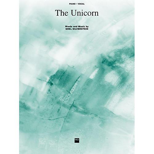 TRO ESSEX Music Group The Unicorn Richmond Music ¯ Sheet Music Series