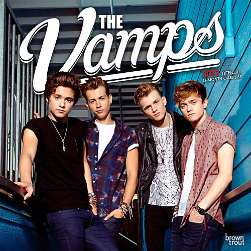 Browntrout Publishing The Vamps 2015 Calendar Square 12x12