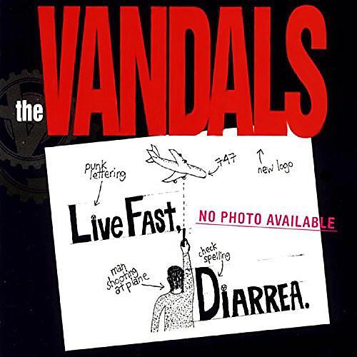 Alliance The Vandals - Live Fast Diarrhea