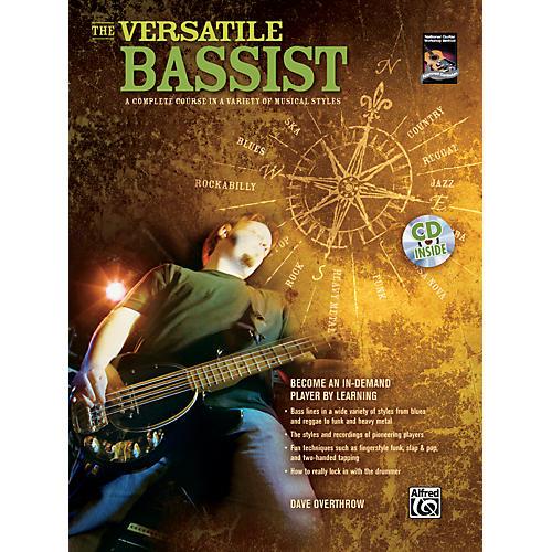 Alfred The Versatile Bassist Book & CD-thumbnail