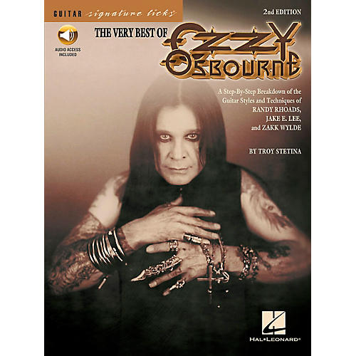 Hal Leonard The Very Best Of Ozzy Osbourne Signature Licks Book with CD-thumbnail