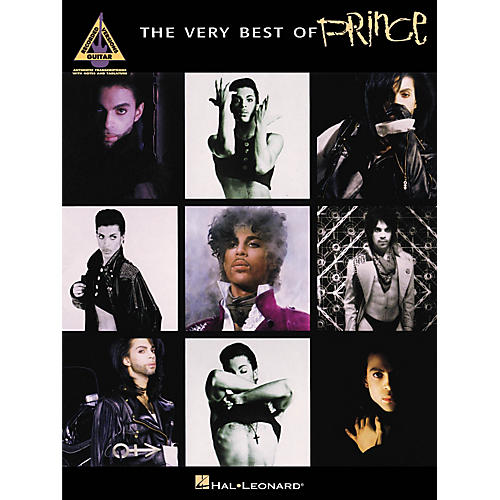 Hal Leonard The Very Best Of Prince Guitar Recorded Version Songbook-thumbnail