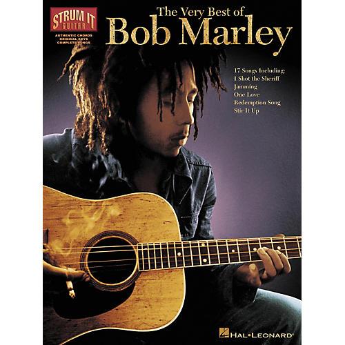 Hal Leonard The Very Best of Bob Marley (Guitar Book)