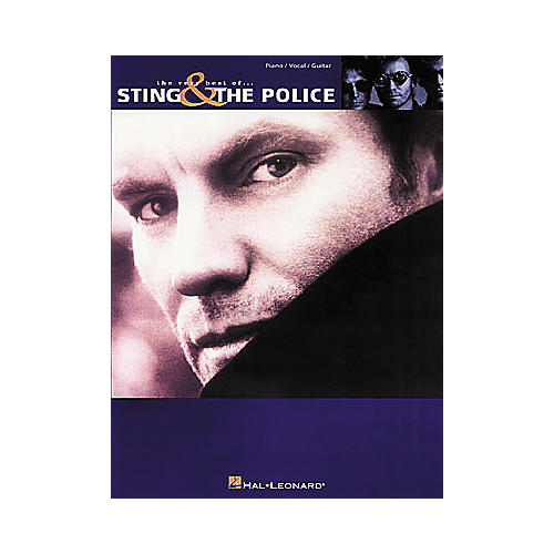 Hal Leonard The Very Best of Sting & The Police Piano, Vocal, Guitar Songbook