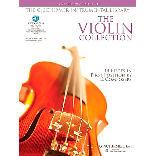 G. Schirmer The Violin Collection - Easy To Intermediate Violin / Piano G.Schirmer Instrumental Library-thumbnail
