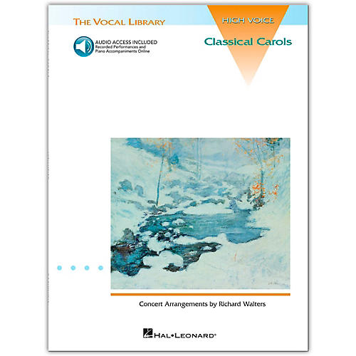 Hal Leonard The Vocal Library Series - English Songs: Renaissance To Baroque for High Voice (Book/Online Audio)-thumbnail