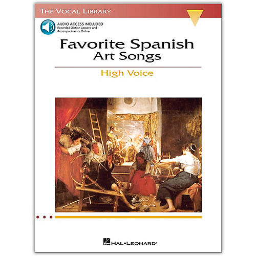 Hal Leonard The Vocal Library Series: Favorite Spanish Art Songs for High Voice (Book/Online Audio)-thumbnail