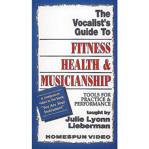 Hal Leonard The Vocalist's Guide to Fitness, Health, and Musicianship (VHS)-thumbnail