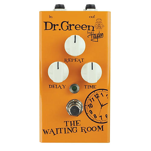 Dr. Green The Waiting Room Delay Guitar Effects Pedal