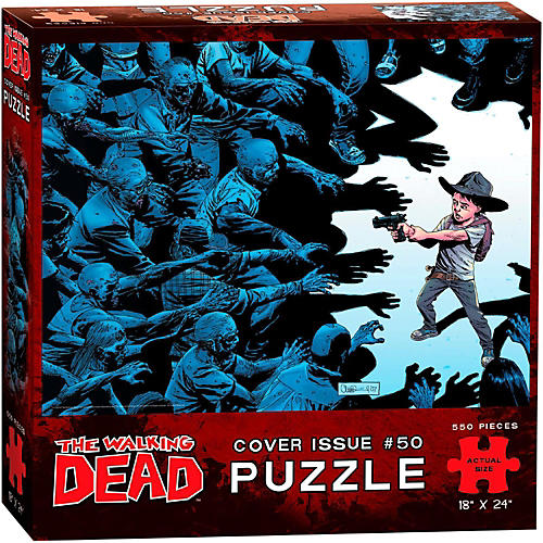 USAOPOLY The Walking Dead Cover Art Issue 50 Puzzle-thumbnail