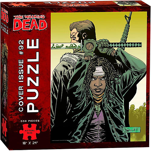 USAOPOLY The Walking Dead Cover Art Issue 92 Puzzle-thumbnail