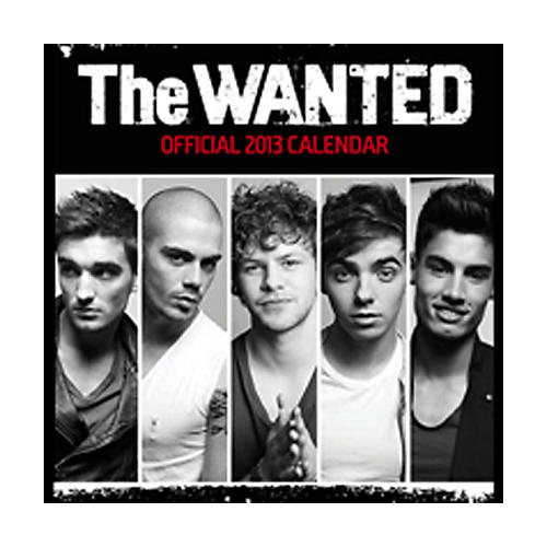 Browntrout Publishing The Wanted 2013 Square Calendar