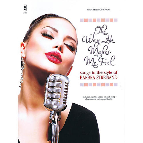 Music Minus One The Way He Makes Me Feel Music Minus One Series Softcover with CD