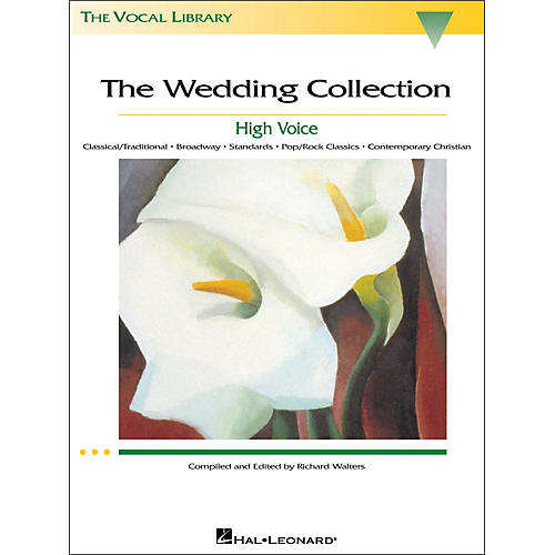 Hal Leonard The Wedding Collection (The Vocal Library Series) for High Voice