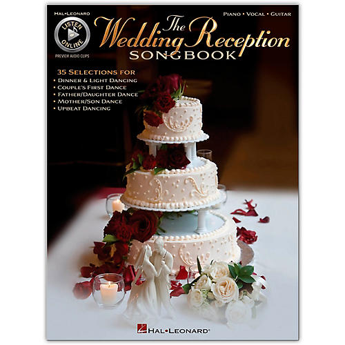 Hal Leonard The Wedding Reception Songbook for Piano/Vocal/Guitar (Book/Online Audio)-thumbnail