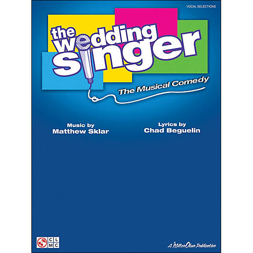 Cherry Lane The Wedding Singer - The Musical Comedy Vocal Selections arranged for piano, vocal, and guitar (P/V/G)-thumbnail