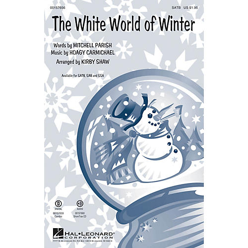 Hal Leonard The White World of Winter SSA Arranged by Kirby Shaw
