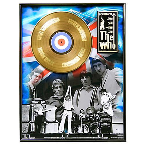 24 Kt. Gold Records The Who - Discography Gold LP Limited Edition of 2,500-thumbnail