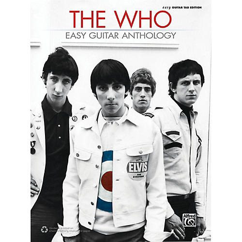 Alfred The Who - Easy Guitar Anthology Book