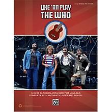 Alfred The Who - Uke 'An Play Easy Ukulele TAB Book