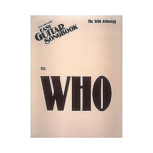 Hal Leonard The Who Anthology Easy Guitar Tab Book-thumbnail