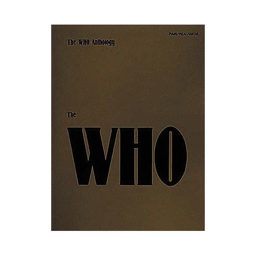 Hal Leonard The Who Anthology Piano, Vocal, Guitar Songbook
