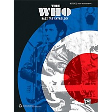 Alfred The Who: Bass TAB Anthology - Authentic Bass TAB Songbook