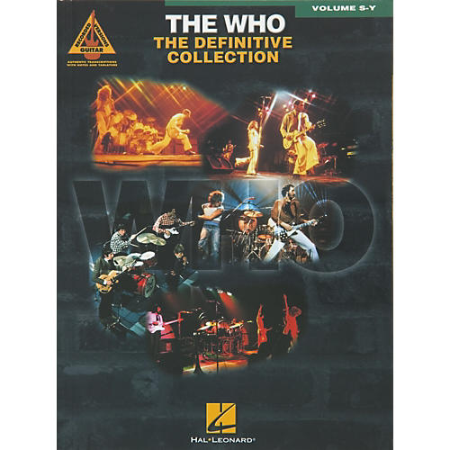 Hal Leonard The Who Definitive Collection Guitar Tab Songbook Volumes S-Y-thumbnail
