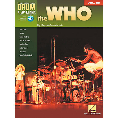 Hal Leonard The Who Drum Play-Along Volume 23 Book/CD-thumbnail
