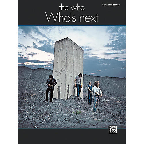Alfred The Who: Who's Next Guitar TAB Edition Songbook-thumbnail