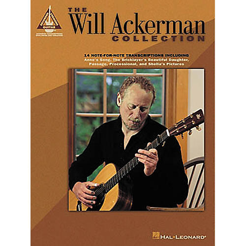 Hal Leonard The Will Ackerman Collection Guitar Tab Songbook-thumbnail