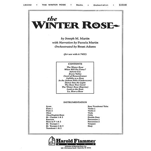 Shawnee Press The Winter Rose Score & Parts composed by Joseph M. Martin