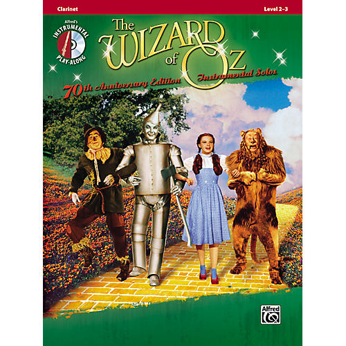 Alfred The Wizard of Oz 70th Anniversary Edition Instrumental Solos: Clarinet (Songbook/CD)-thumbnail