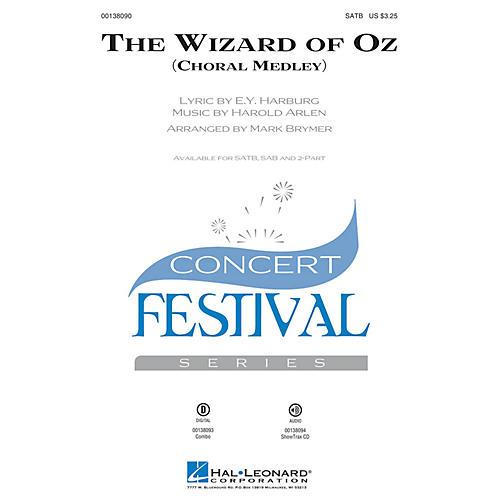 Hal Leonard The Wizard of Oz (Choral Medley) 2-Part Arranged by Mark Brymer