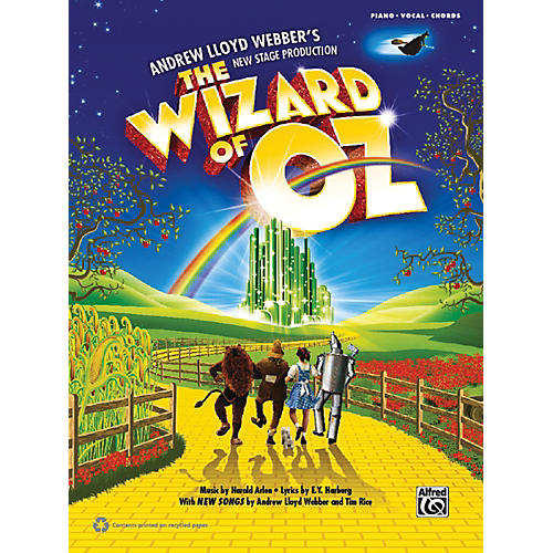 Alfred The Wizard of Oz: Selections from Andrew Lloyd Webber's New Stage Production P/V/C Book-thumbnail