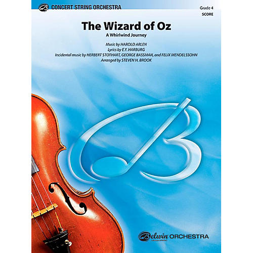 Alfred The Wizard of Oz String Orchestra Level 4 Set-thumbnail