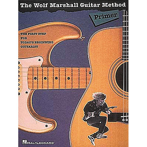 Hal Leonard The Wolf Marshall Guitar Method Primer Book-thumbnail