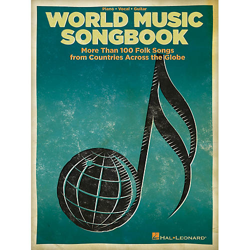 Hal Leonard The World Music Songbook - More Than 100 Folksongs From Countries Across The Globe P/V/G Songbook