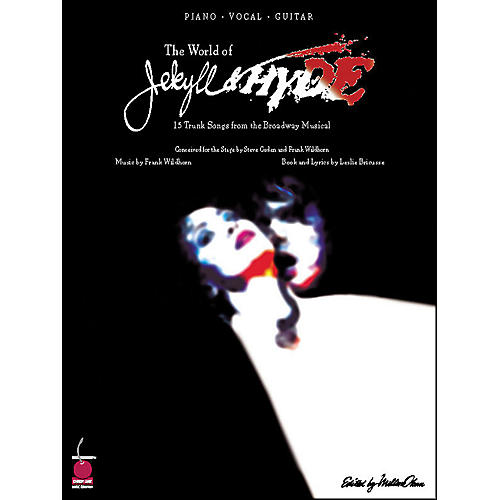Cherry Lane The World Of Jekyll And Hyde - 15 Trunk Songs From The Broadway Musical arranged for piano, vocal, and guitar (P/V/G)-thumbnail