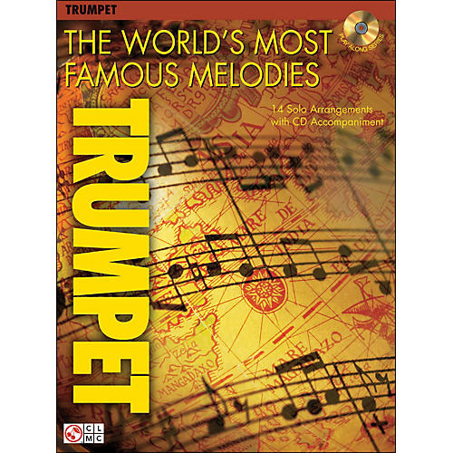 Cherry Lane The World's Most Famous Melodies for Trumpet Book/CD