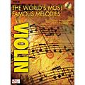Cherry Lane The World's Most Famous Melodies for Violin Book/CD  Thumbnail