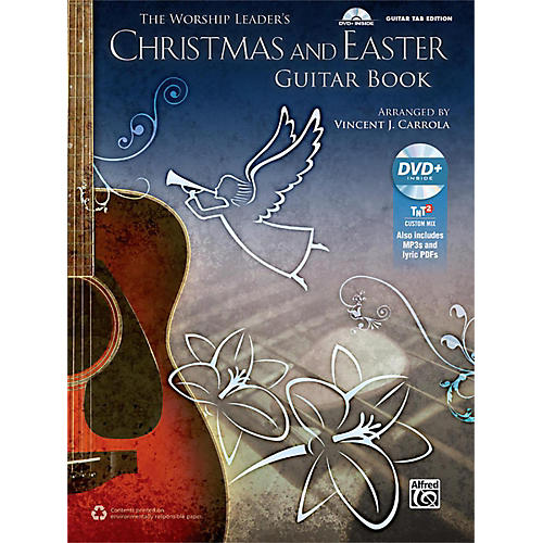 Alfred The Worship Leader's Christmas and Easter Guitar TAB (Book/MP3 CD)
