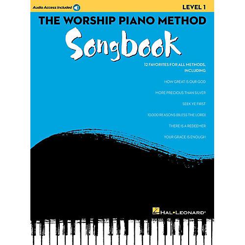 Hal Leonard The Worship Piano Method Songbook - Level 1 Book w/ Audio Online-thumbnail