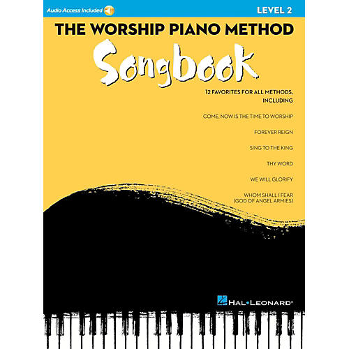 Hal Leonard The Worship Piano Method Songbook - Level 2 Book w/ Audio Online-thumbnail