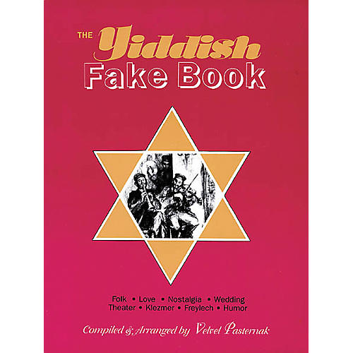 Tara Publications The Yiddish (Fake Book)