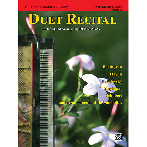 Alfred The Young Pianist's Library Duet Recital Book Book 6A-thumbnail