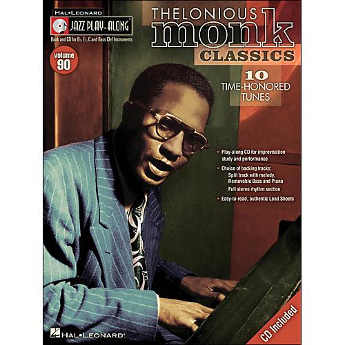 Hal Leonard Thelonious Monk Classics - Jazz Play-Along Volume 90 (CD/Pkg)-thumbnail