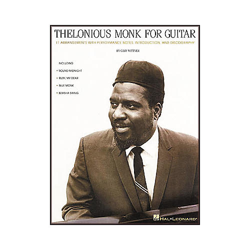Hal Leonard Thelonious Monk for Guitar Tab Book